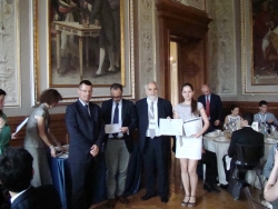 Вручение дипломов ITALIAN TECHNOLOGY AWARD 2014 по программе «Innovation Made in Italy training course»